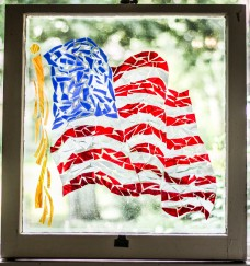 """Stars & Stripes USA Flag"" Broken Stained Glass Window; Link to Store: http://mhcxd.eqyhy.servertrust.com/product-p/usa-flag.htm"